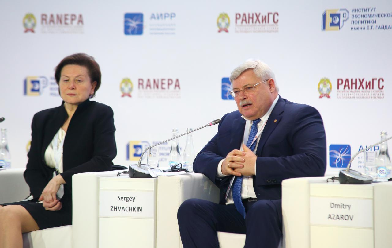 Губернатор Сергей Жвачкин представил на Гайдаровском форуме томский опыт в сфере модернизации здравоохранения