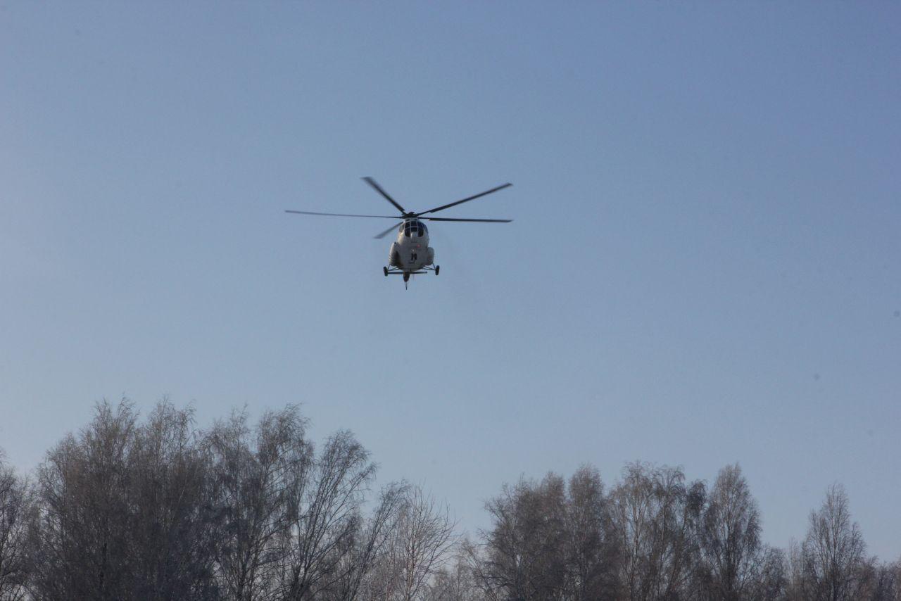 Вертолеты санавиации эвакуировали 107 жителей Томской области