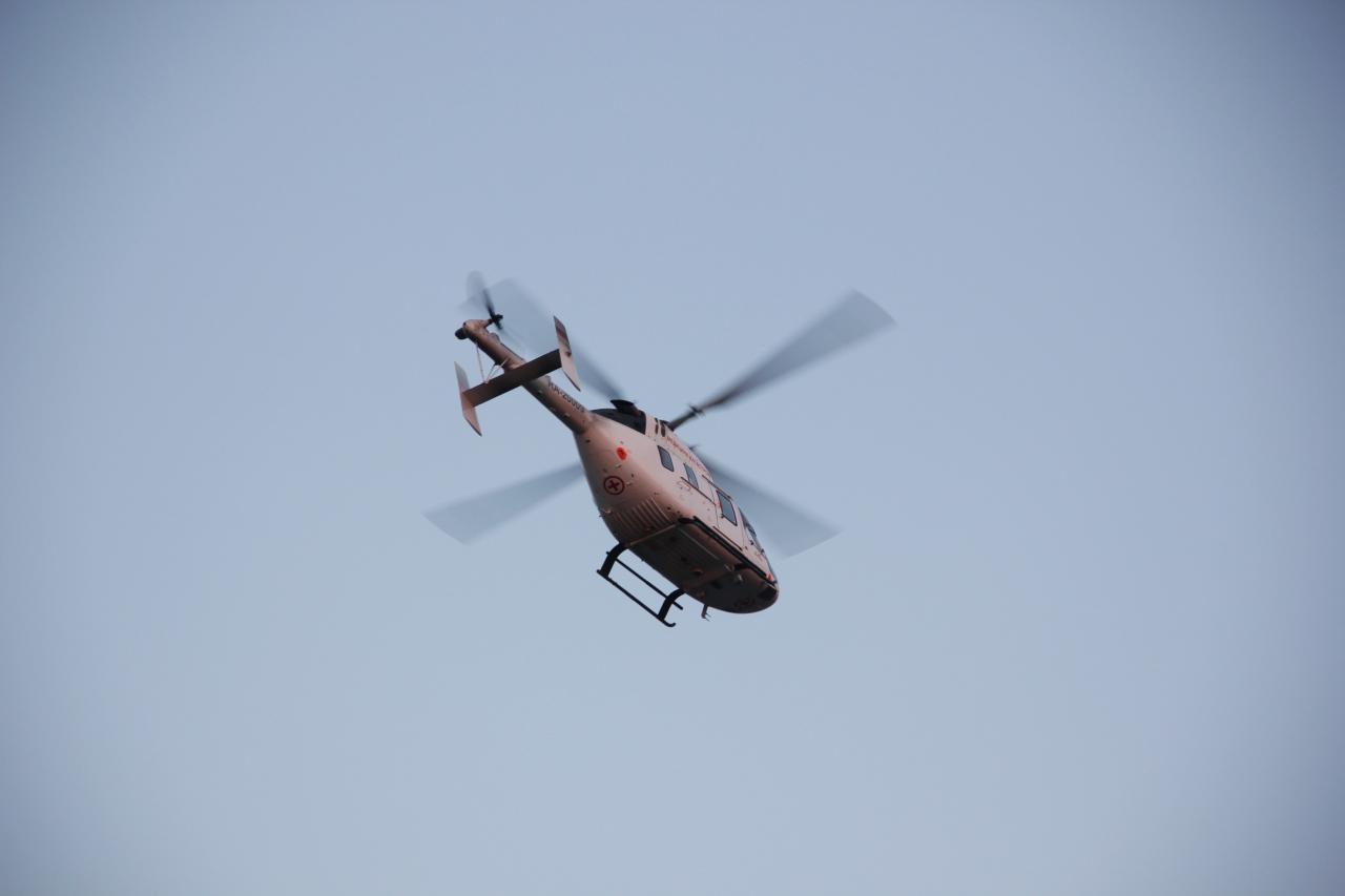 Более 370 пациентов в Томской области эвакуировали вертолеты санитарной авиации