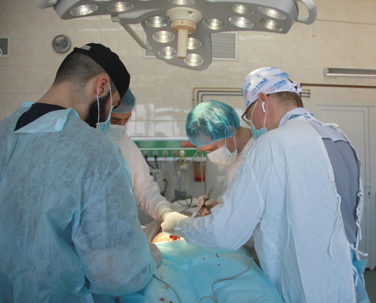 1 августа исполнилось 5 лет отделению пластической хирургии Томской ОКБ