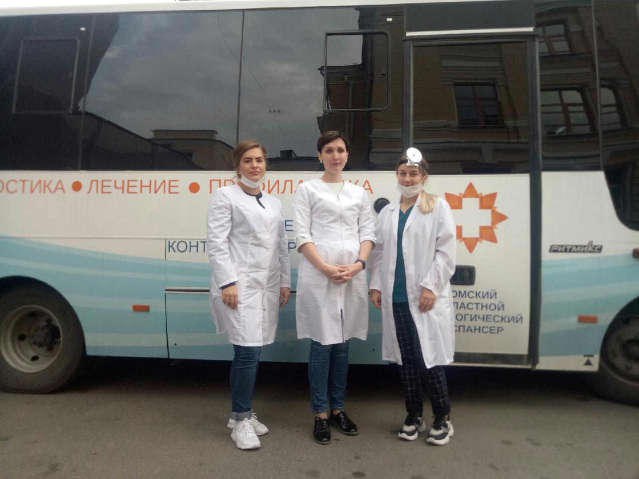 Более 350 человек приняли участие в профилактической акции Томского областного онкодиспансера