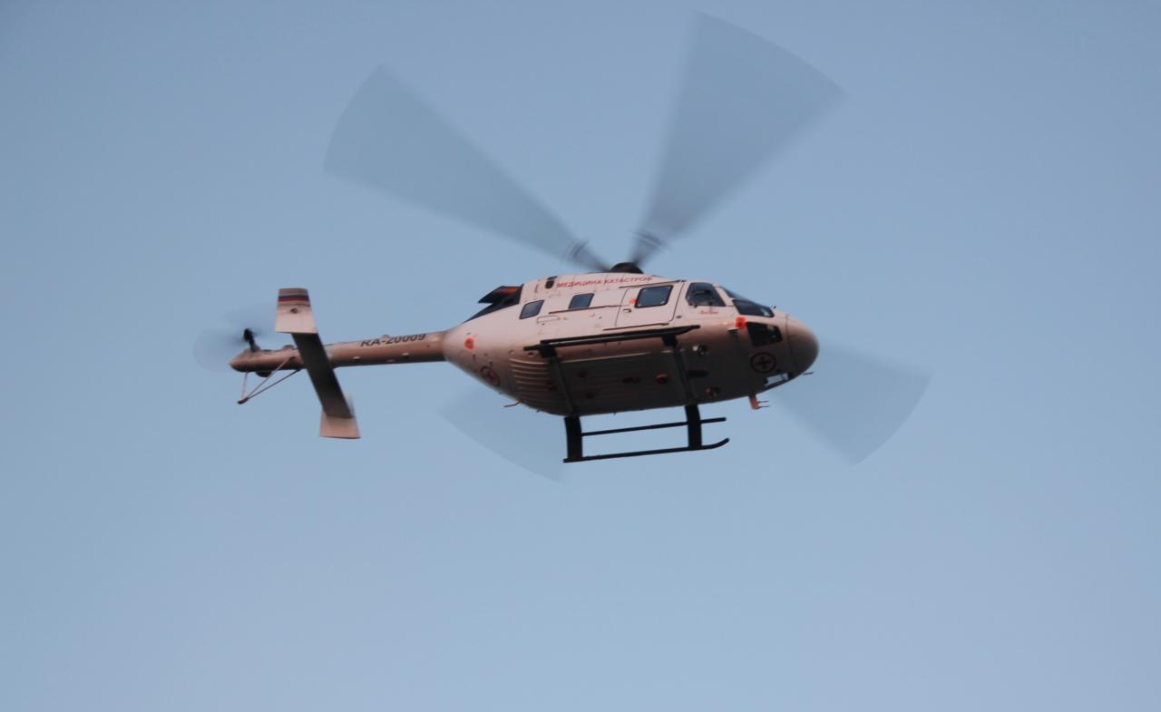 В 2019 году вертолеты санавиации эвакуировали 720 пациентов из районов Томской области