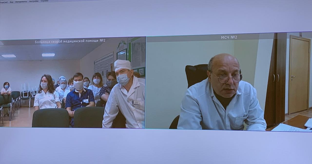 Резерв кадров для работы в респираторных госпиталях создается в регионе