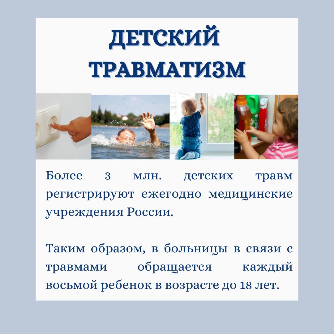 1 детский травматизм